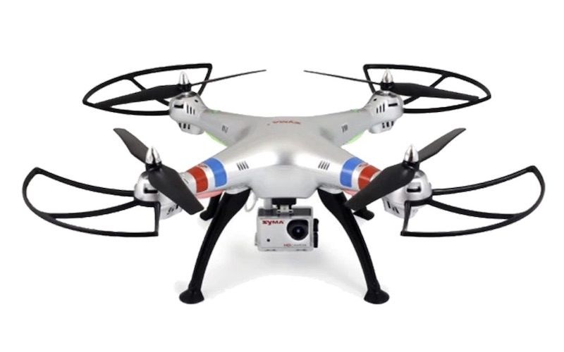 Syma x8g drone review